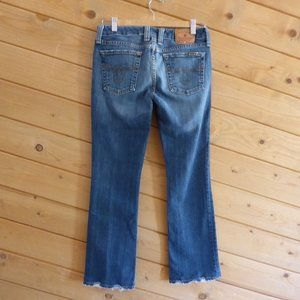 Lucky Brand Blue Lola Boot Cut Jeans 6/28